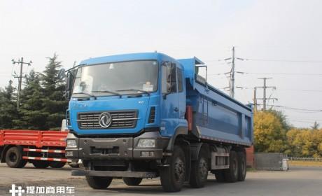 海蓝色涂装,承载力更强?带您见识全新东风天龙KC渣土自卸车