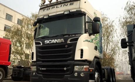 卡车王中王,带大家见识下730马力V8动力的斯堪尼亚卡车