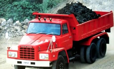 上世纪80年代东北林场建设的功臣,退役的日产柴长头卡车实拍