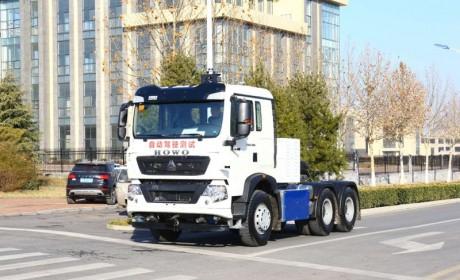 从港口到公开道路,中国重汽L4级无人驾驶电动卡车、公交车济南公开路试