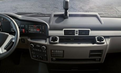 内饰细节改进,变速箱大升级,2019款曼恩国内在售卡车已同步欧洲配置