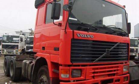 上世纪国内的进口卡车都在港口?曾服役上海港的沃尔沃F10卡车实拍