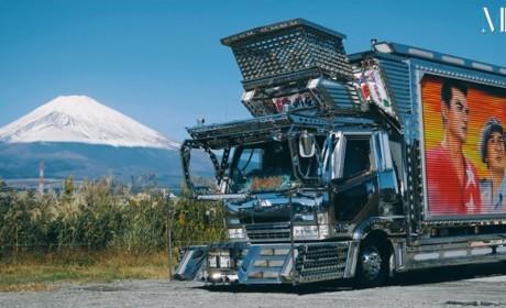卡车老司机花3000万爆改自己卡车,带您见识日本的暴走卡车文化
