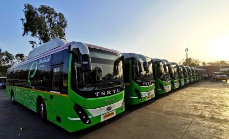 比亚迪在印度交付第108台电动巴士,打造当地最大车队