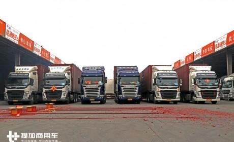 年后某物流园转了一圈,才知道国内进口卡车保有量原来这么大