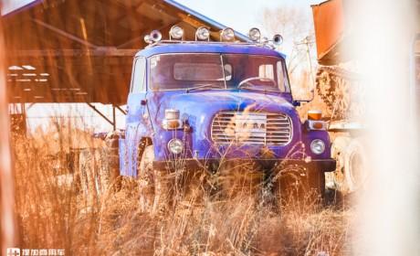 功臣级别的卡车,在小兴安岭林场工作近半个世纪的太脱拉T148实拍