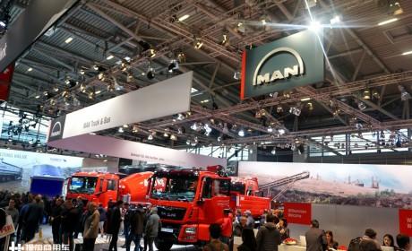 带您领略德国雄狮在底盘车市场的超强实力,2019宝马展曼恩展车实拍