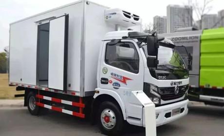 高效运输专家冷运之星,东风凯普特ZD30冷藏车实拍