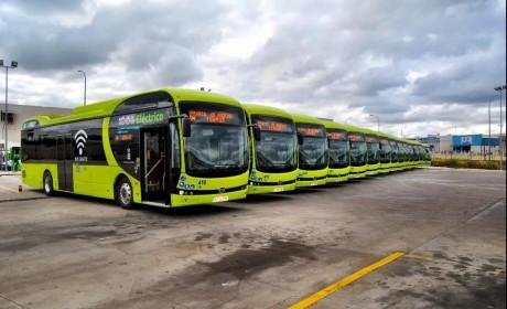 如期而至 比亚迪15台纯电动大巴完美交付西班牙