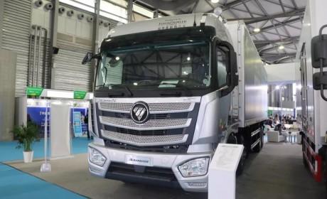 百公里节油2-3升一年省3万元,欧曼EST2019款冷链之星亮相亚洲国际冷链物流与技术装备展览会