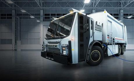 城市垃圾回收车电动化趋势不可逆转,美国卡车巨头马克也加入测试