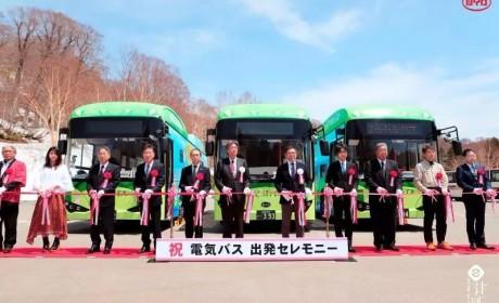 """从""""1""""到""""多""""再交车,日本纯电动巴士第一品牌来自中国"""
