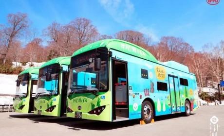 四度交付电动巴士 ,比亚迪进击日本市场