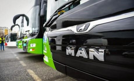 昔日足球健将遇见环保先锋,50辆新款曼恩Lion's City M巴士交付第比利斯
