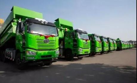绿色环保、快速渣运,解放新J6P 6×4智能渣土自卸车,才是挣钱的机器