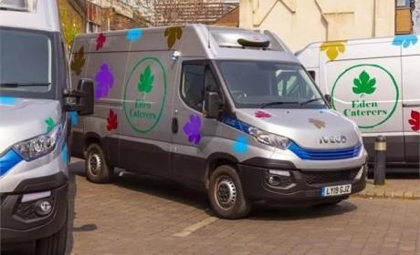 依维柯Daily Blue Power车型成为伦敦餐饮供应商首选