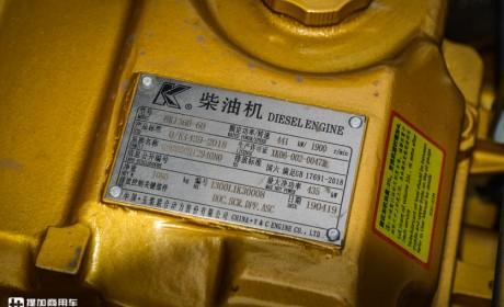 玉柴K13助力,国内第一台600+大马力国六牵引车发布,2019款乘龙H7实拍