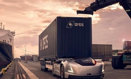 Vera初试锋芒:沃尔沃卡车在物流中心与港口之间实现自动运输