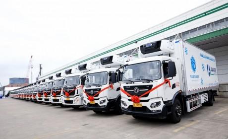 专业的服务团队、行业领先水平,东风商用车为医药冷链物流提供可靠保证