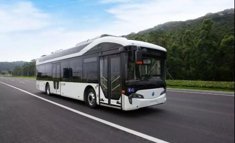 银隆新一代氢燃料电池客车来了!