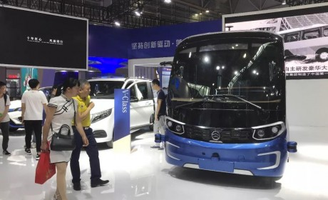 闪耀第十七届中国·海峡项目成果交易会,星辰无人驾驶微循环巴士精彩亮相
