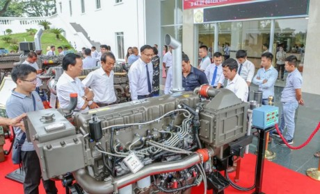 1月-5月玉柴大功率船电发动机销量比增35%,热销柬埔寨