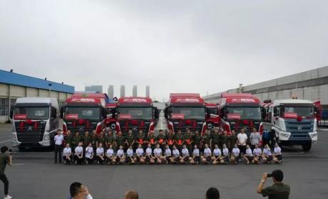 前四后八载货车真的来了,还是国六车型,带你见识三一近日下线的六款新车型