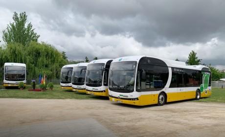 再拓新市场,比亚迪打造葡萄牙首个12米纯电动大巴车队