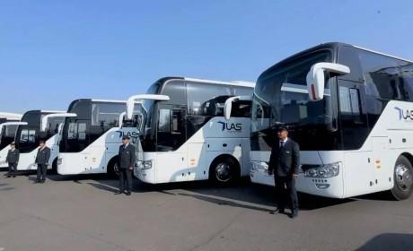 168台宇通大巴成功交付,乌兹别克有史以来最大批量客车采购