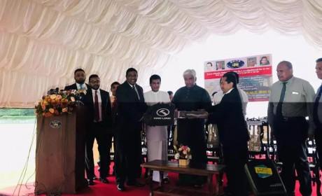 总理亲自剪彩!金龙龙威II代首批交付斯里兰卡