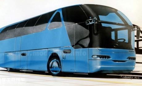 青年尼奥普兰JNP6127高端大巴的前世今生,关于原型车Starliner N516的那些事