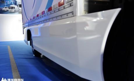 全新外观,配置也更高端,福田智蓝欧马可电动轻卡实拍评测