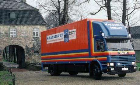 国内竟还有一辆斯堪尼亚2系卡车在服役,1985年出厂的92M实拍