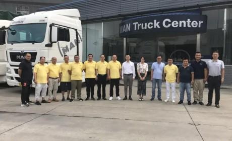 曼恩商用车在武汉开展中国驾驶培训