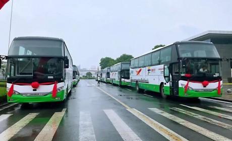 批量安凯A8交付桂林用户,助力桂林打造世界级旅游名片