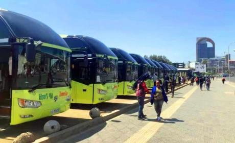 金旅客车在埃塞俄比亚顺利完成筹建KD项目,谱写中非国际产能合作新篇章