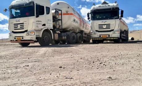 厉害了!LNG重卡首次穿越青藏高原海拔5000米无人区