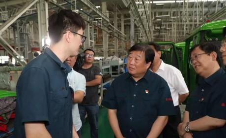 谭旭光:中国重汽济宁商用车公司要为济宁市人民作出更大贡献!