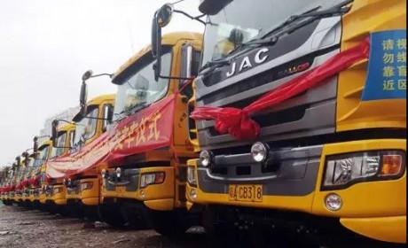百台格尔发智能环保渣土车进驻广州,渣土运输绿色时代到来!