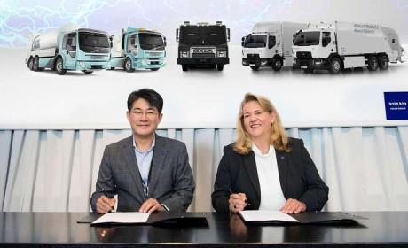 持续发力 电动交通,沃尔沃集团与三星SDI建立战略联盟