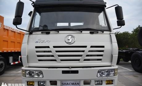 陕汽经典的斯太尔重卡,国内已停产,如今只销往海外的奥龙牵引车实拍