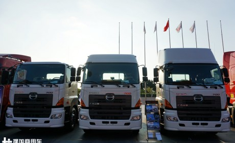 汕德卡的最大竞争对手来了,广汽日野700新款大马力车型实拍评测
