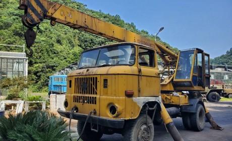 东德产的依发卡车实拍,上世纪60年代大批引进国内,老司机都认识