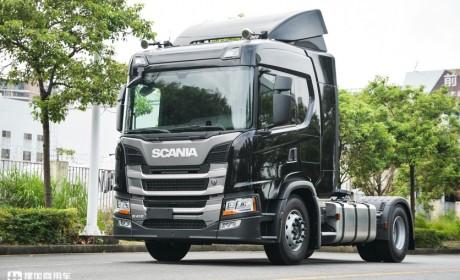 快递公司喜欢什么样的进口卡车?实拍被订购的斯堪尼亚G410告诉您