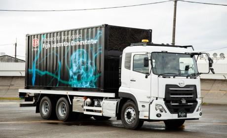 应对司机短缺问题,UD卡车在日本公开测试L4级自动驾驶