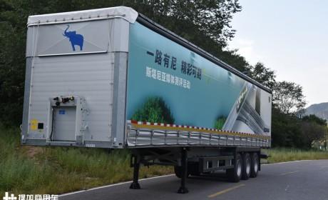 13.7米货箱自重仅6.8吨,德国施密茨侧帘挂车是怎么做到的?
