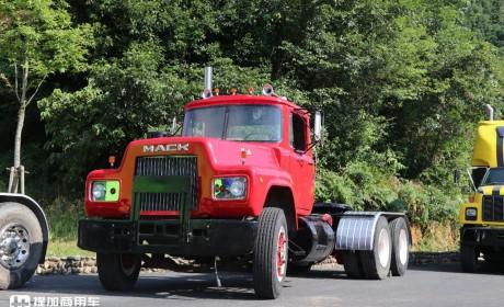 限高杆催生的重卡新车型-超低顶卡车,少见的美国马克R系卡车实拍,提加一周好文推荐