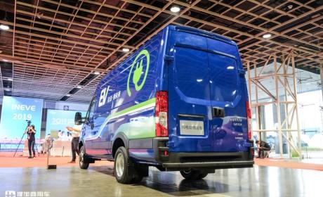 小众的高端大VAN,南京依维柯欧胜EV45纯电动轻客静态评测