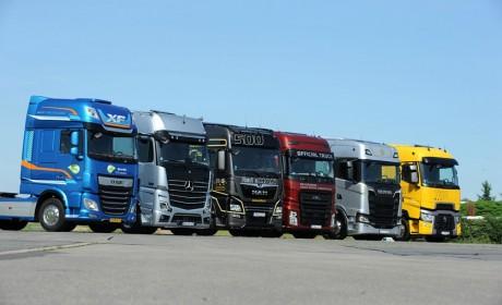 斯堪尼亚、奔驰等欧洲卡车又开始评选谁最舒适,到底谁拿了第一?