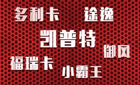 更全面、更强大!东风汽车股份六大产品品牌发布